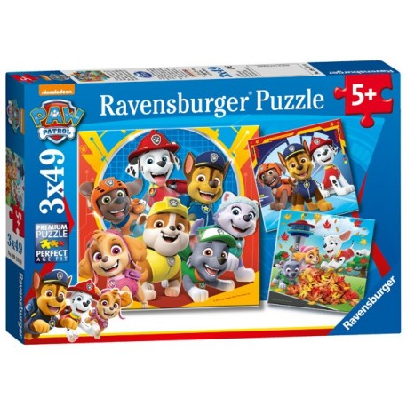 Puzzle 3 X 49 Pz: Paw Patrol