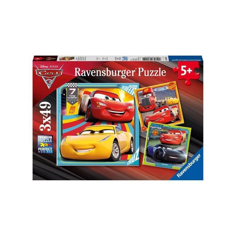 Puzzle 3 X 49 Pz: Cars 3