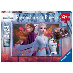 Puzzle 2 X 24 Pz: Frozen 2