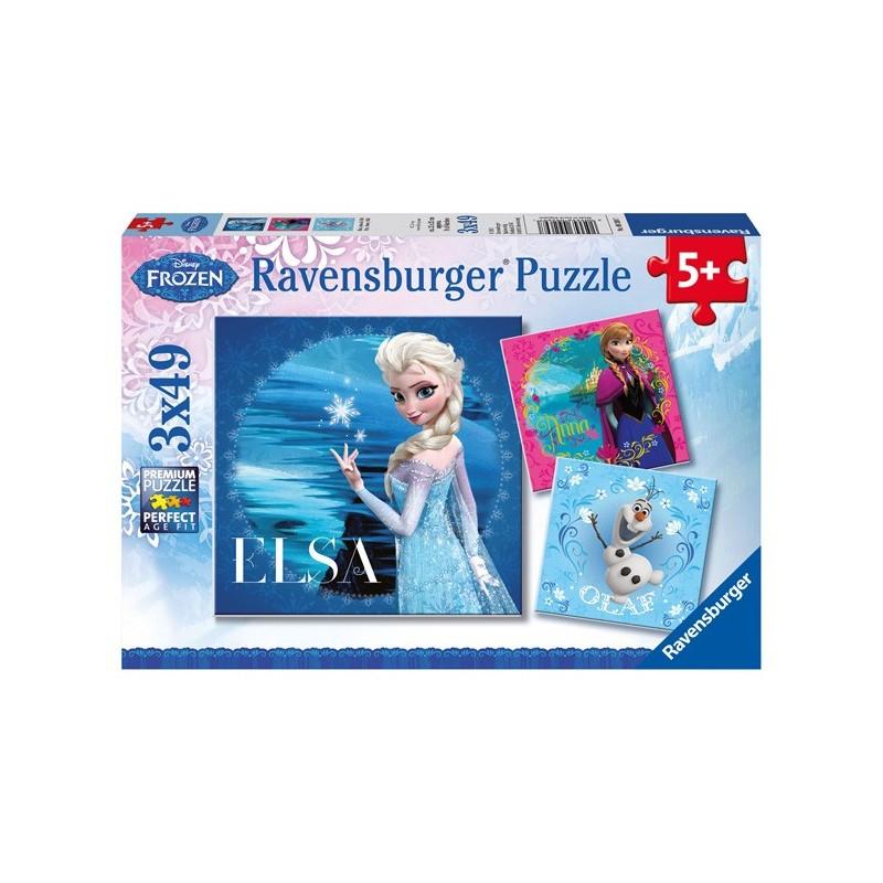 Puzzle 3 X 49 Pz: Frozen C