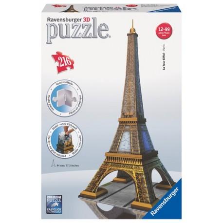 Puzzle 3D - Serie Media: Tour Eiffel
