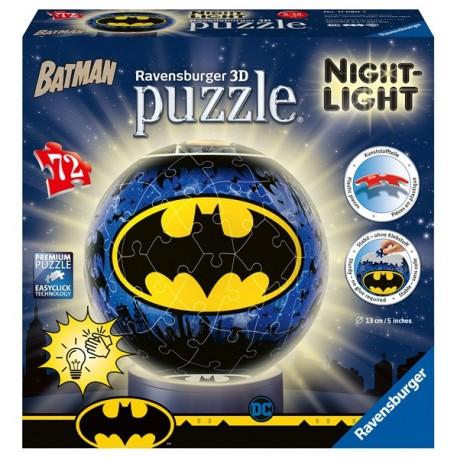 Puzzle 3D - Lámparas: Batman