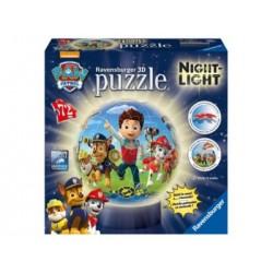 Puzzle 3D - Lámparas: Paw Patrol