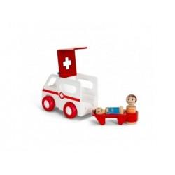 BRIO Ambulancia con luz y sonido
