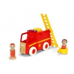 BRIO Camión de bomberos con luz y sonido