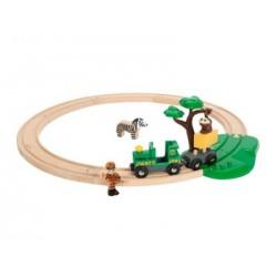 BRIO Set de inicio circuito de tren con safari