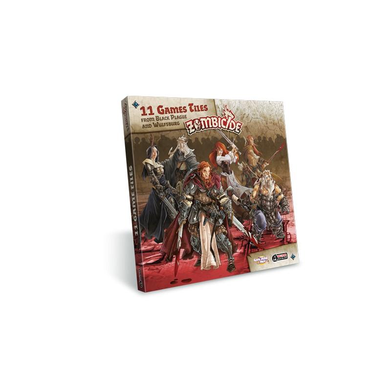 Zombicide: Black Plague - Extra Tiles Pack