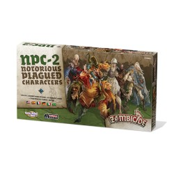 Zombicide: Black Plague - Notorious Plagued Characters 2