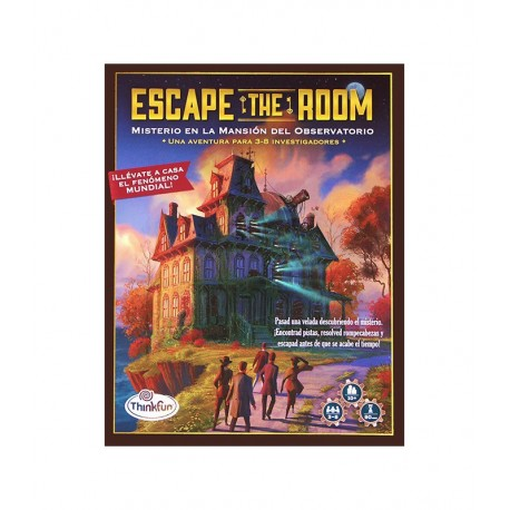 ESCAPE THE ROOM - MISTERIO EN LA MANSIÓN OBSERVATORIO