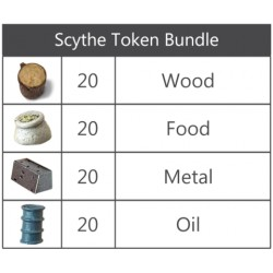 Scythe - Recursos Deluxe