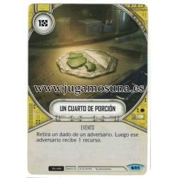 085 - UN CUARTO DE PORCIÓN