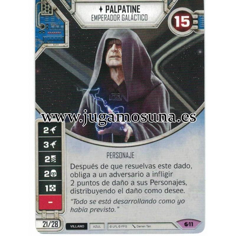 011 - PALPATINE (Incluye dado)