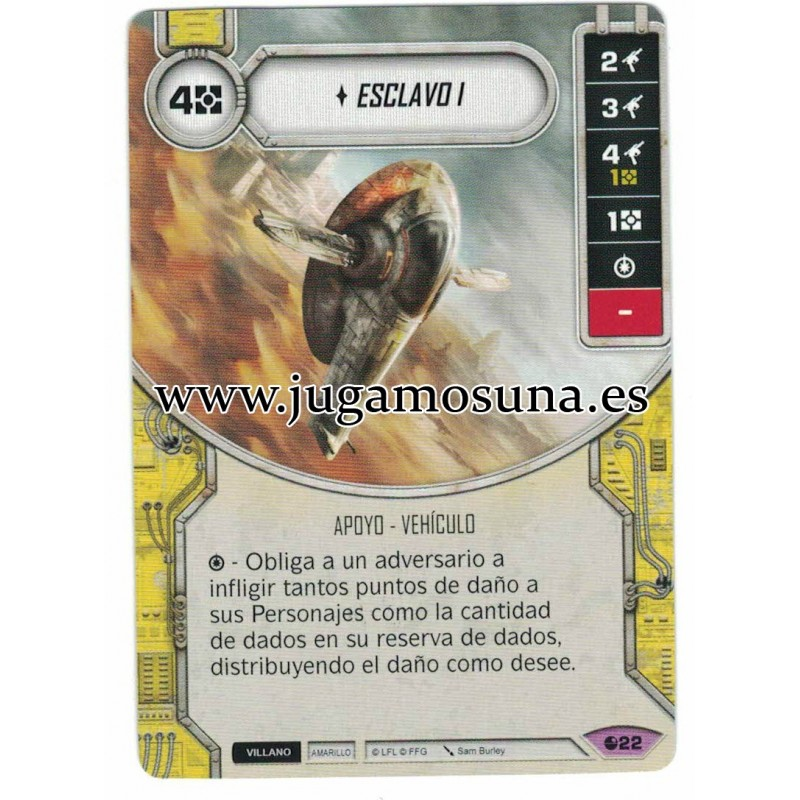 022 - ESCLAVO I (Incluye dado)