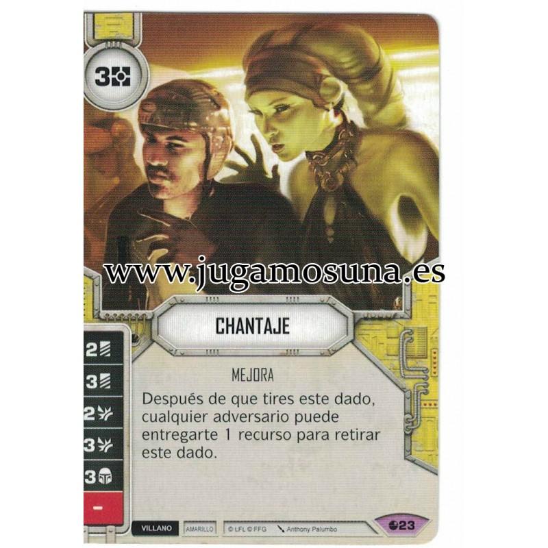 023 - CHANTAJE (Incluye dado)