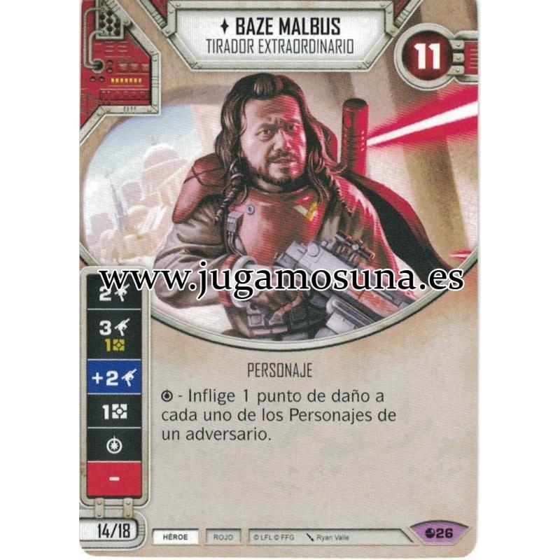 026 - BAZE MALBUS (Incluye dado)