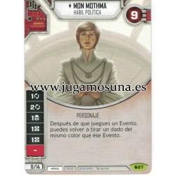027 - MON MOTHMA (Incluye dado)
