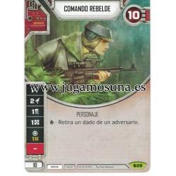 028 - COMANDO REBELDE (Incluye dado)