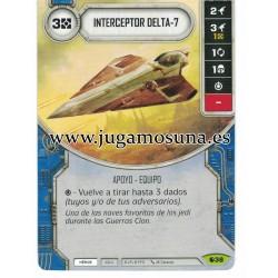 038 - INTERCEPTOR DELTA-7 (Incluye dado)