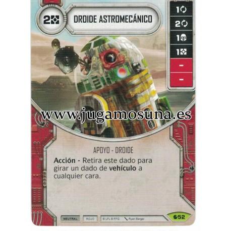 052 - DROIDE ASTROMECANICO  (Incluye dado)