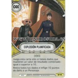 116 - EXPLOSIÓN PLANIFICADA
