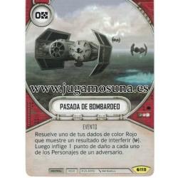 119 - PASADA DE BOMBARDEO