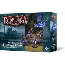 Runewars: Grupo de mando de infantería de Daqan