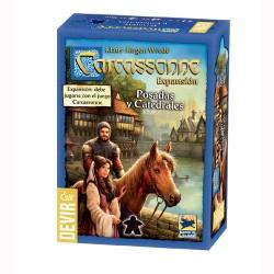 CARCASSONNE: POSADAS Y CATEDRALES (Nueva edición)