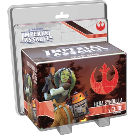 Star Wars Imperial Assault: Hera Syndulla y C1-10P