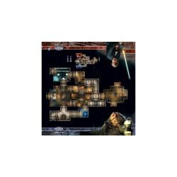 Star Wars Imperial Assault: Tablero de Escaramuza del palacio de Jabba