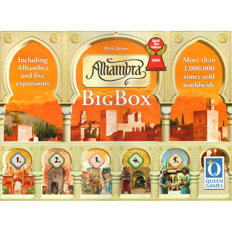 Alhambra Big Box (inglés)
