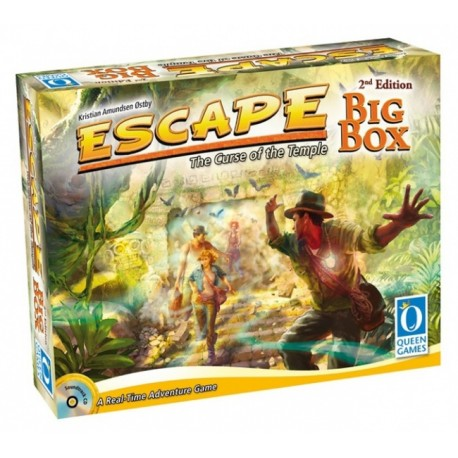 Escape - The Curse of the Temple - Big Box 2nd Edition (Inglés)