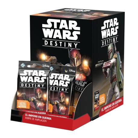 Star Wars Destiny: El Imperio en guerra Expositor de Sobres de Ampliación