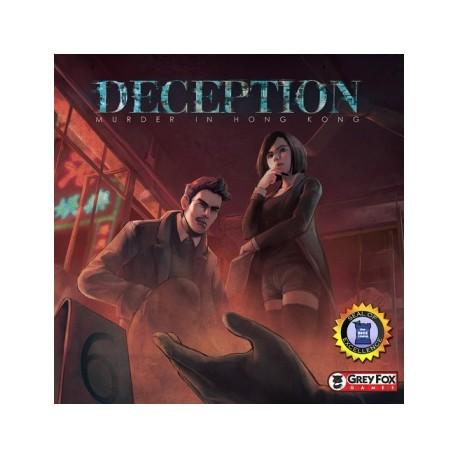 Deception: Murder in Hong Kong (Inglés)