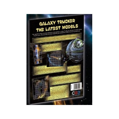 Galaxy Trucker: The Latest Models (Inglés)