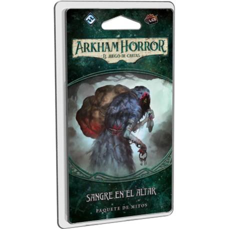 Arkham Horror el juego de cartas - Sangre en el altar