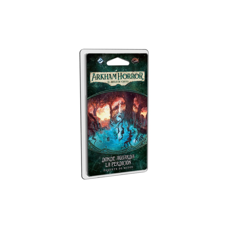Arkham Horror el juego de cartas - Donde aguarda la perdición