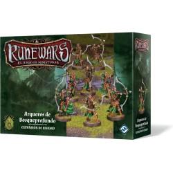 Runewars: El juego de miniaturas - Arqueros de Bosqueprofundo