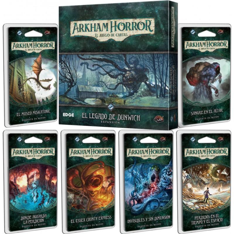 Arkham Horror El juego de cartas - CICLO DUNWICH COMPLETO