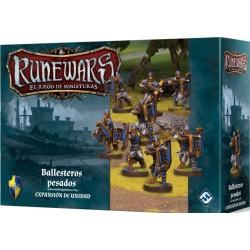 Runewars: El juego de miniaturas. Los Señores de Daqan. Ballesteros pesados