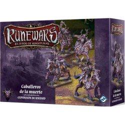 Runewars: El juego de miniaturas. Waiqar el Inmortal. Caballeros de la muerte