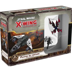 [Pre-Venta] Star Wars: X-Wing Expansiones: Escoria y villanos. Pilotos de fortuna