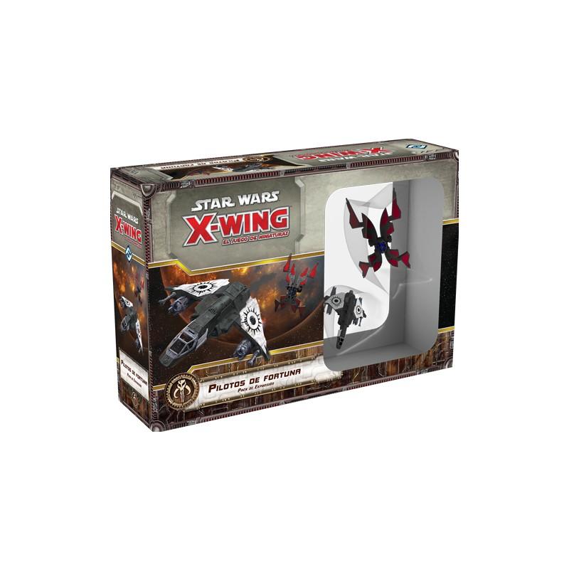 [Pre-Venta] Star Wars: X-Wing Expansiones: Escoria y villanos. Pilotos de fortuna