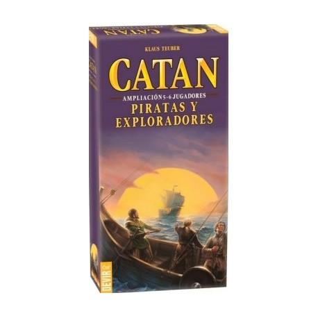 Catan - Piratas y Exploradores.: Expansión 5-6 jugadores