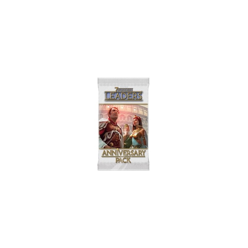 7 Wonders pack Aniversario: Leaders