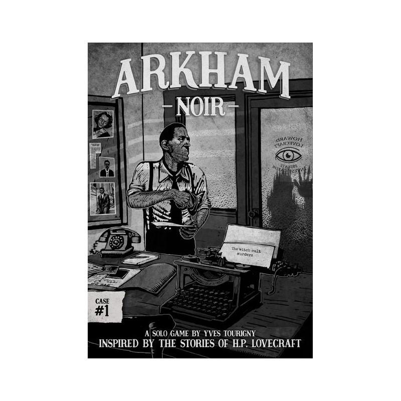 Arkham Noir: caso 1- Los asesinatos del culto de la bruja