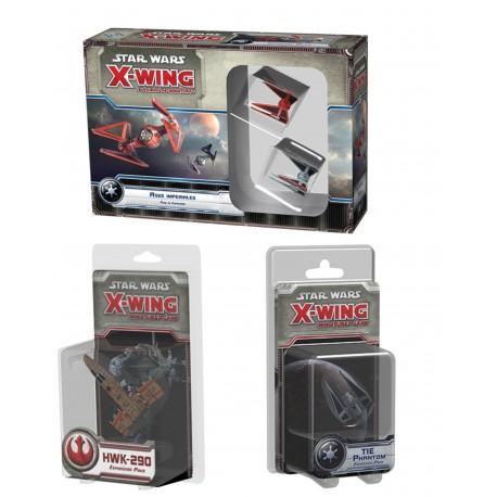 Star Wars X-wing: Pack de Naves 3