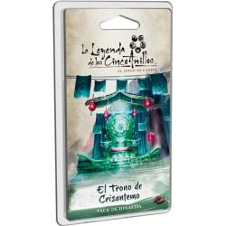 [Pre-Venta] La Leyenda de los Cinco Anillos el juego de cartas - El Trono de Crisantemo