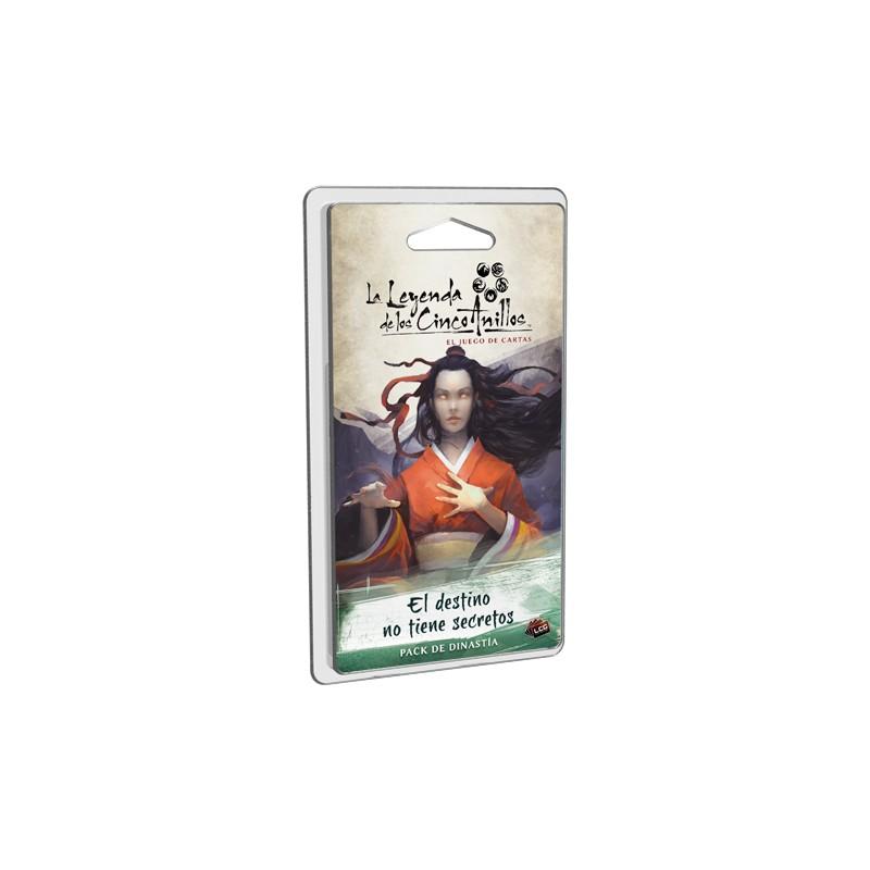 [Pre-Venta] La Leyenda de los Cinco Anillos el juego de cartas - El destino no tiene secretos