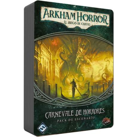 Arkham Horror El juego de cartas -Carnevale de horrores