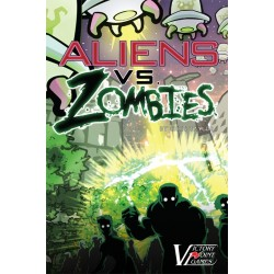 Aliens vs, Zombies (Inglés)